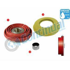 DUST RUBBER SET